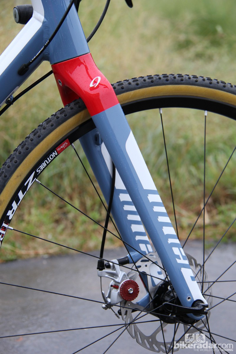 Niner's RLT has a slacker head tube angle than many cyclocross bikes on the market - as slack as 70 degrees on the smaller frame sizes