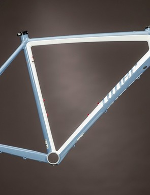 Claimed weight for a size 53cm Niner RLT 9 frame is 1,395g
