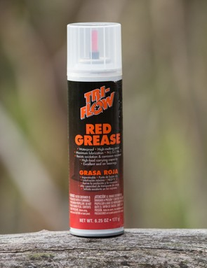 Tri-Flow Red Grease: it's strange to see grease in an aerosol can