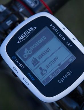 The Magellan Cyclo 105 GPS Computer