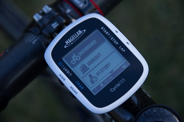 The Magellan Cyclo 105 GPS Computer