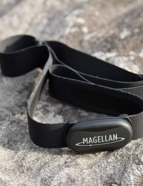 The Cyclo 105 HC includes an ANT+ heart rate strap – it has a light feel and was comfortable in use