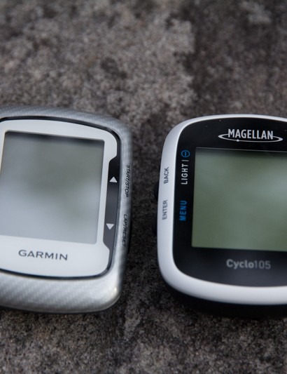 While very similar to the Garmin Edge 500, the Cyclo 105 features a slightly larger screen