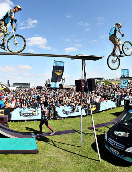Martyn Ashton is renowned for his breathtaking stunts
