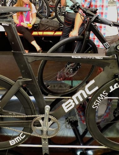 With a new velodrome alongside their Swiss factory, BMC had the perfect test location for their first competition track bike, the TR01