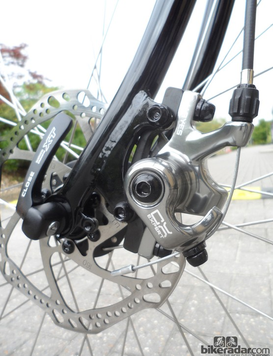 The Equilibrium Disc uses Hayes CX Expert stoppers