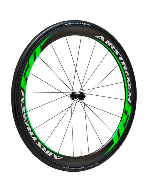 Green Airstreeem Carbon Aero 50 wheels