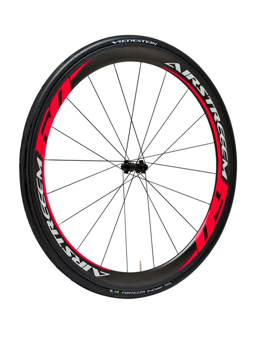 Airstreeem Carbon Aero 50 in bright red