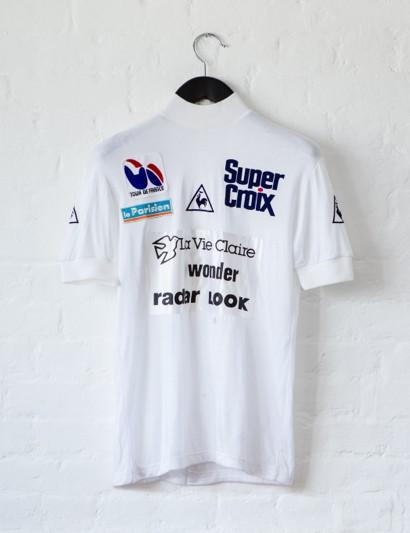 Rapha's Bordeaux-Paris Challenge auction: Andy Hampsten's Tour de France white jersey