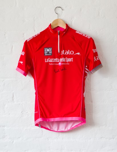 Rapha's Bordeaux-Paris Challenge auction: Paul Smith designed these jerseys - and signed this one
