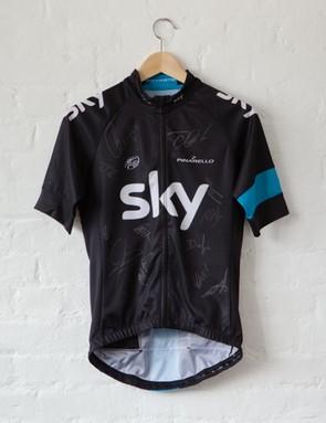Rapha's Bordeaux-Paris Challenge auction: Team Sky signatures