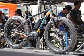This Felt electric fat bike prototype, dubbed