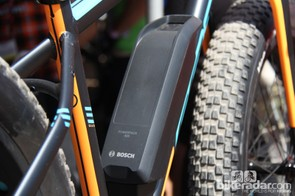Felt claims the Bosch battery has an approximate run time of 2.5-3 hours
