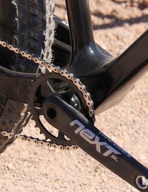 Race Face is one of the few companies making high-end cranks with extra long, fat bike-friendly spindles