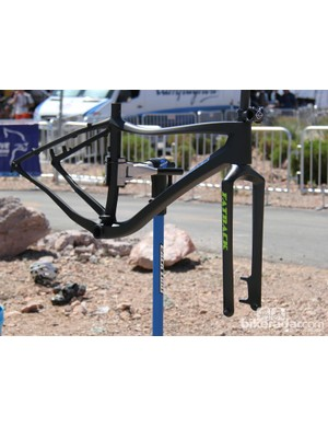 Fatback's Corvus carbon frame and fork will be available later this year for US$1,850 (UK pricing TBD)