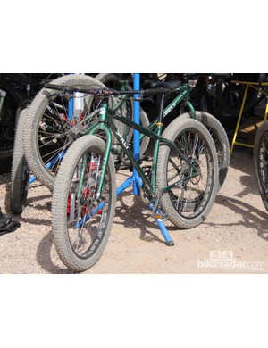 Surly has also spearheaded the development of 29+ bikes such as the Surly Krampus, which was introduced at Interbike last year