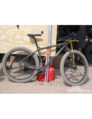 Surly has built upon the 29+ platform with the ECR, a Krampus designed with bike packing in mind