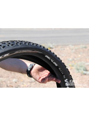 Fatback worked with Vee Rubber to design the Sterling tire