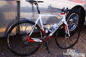 We test rode the R785 system on a Colnago C59