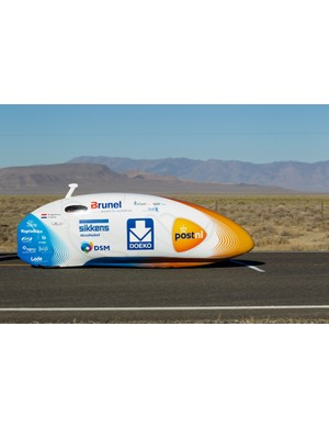 VeloX3 is now the world's fastest human powered vehicle, clocking 133.78kmh (83.13mph) at the World Human Powered Speed Challenge at Battle Mountain in Nevada, USA