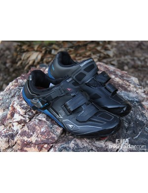 The XC90 is Shimano's new flagship cross-country race shoe, the new shoe incorporates Dynalast technology from the company's top-end road shoes