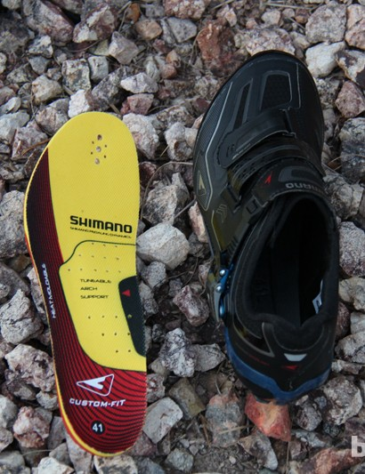 The Shimano XC90 comes with a high-end insole