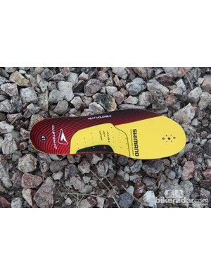 The XC90 insole is heat moldable for a custom fit