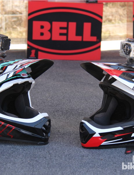 The new Bell Transfer-9 (right) has nearly all of the features of the US$400 Full-9 (left) for half the price