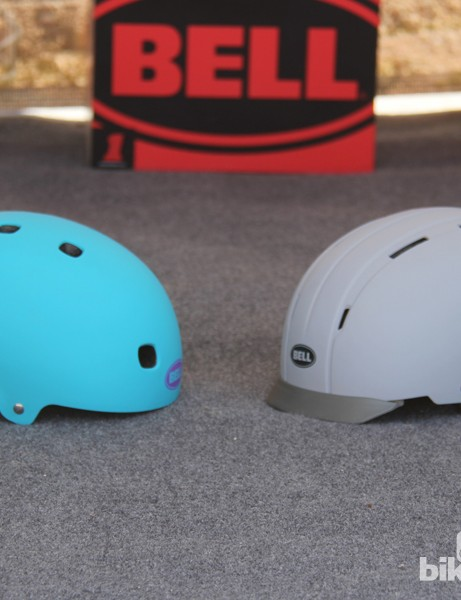 Both the Intersect (right) and the Segment (left) are suitable for urban cycling and commuting. The new Intersect is approximately 40 grams heavier than the 410g Segment
