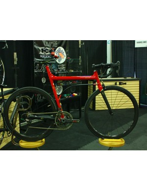 Fairwheel Bikes Interbike 2013: Shin-ichi Komo built this for a collector who has perhaps hundreds of bikes