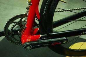 Fairwheel Bikes Interbike 2013: Perhaps the world's smallest seat stays