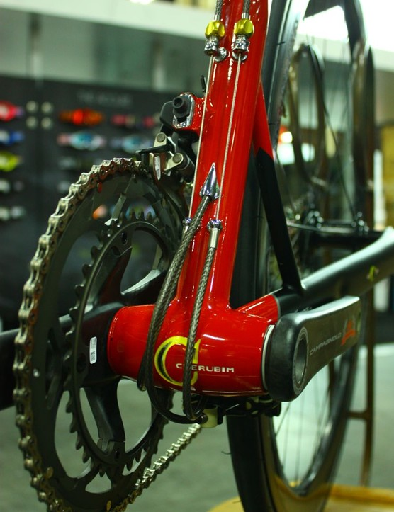 Fairwheel Bikes Interbike 2013: No, you are not looking at the bottom of the bike