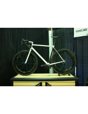 Fairwheel Bikes Interbike 2013: Notice anything different about this English?