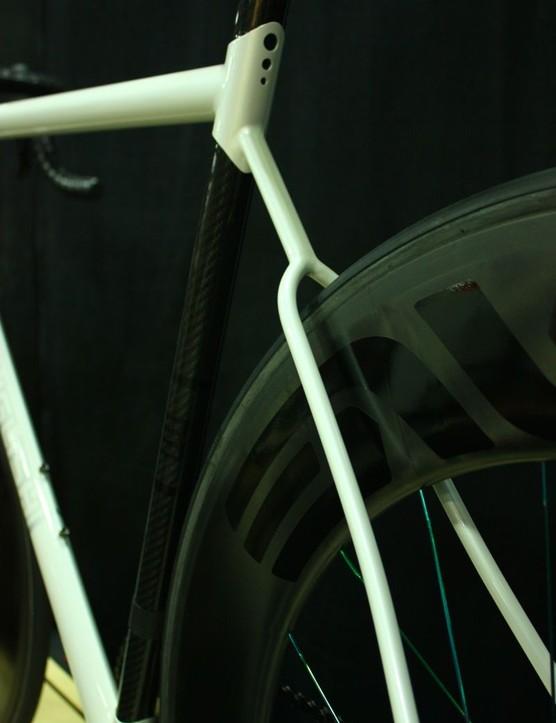 Fairwheel Bikes Interbike 2013: Hyper-slender stays and seat stay yoke