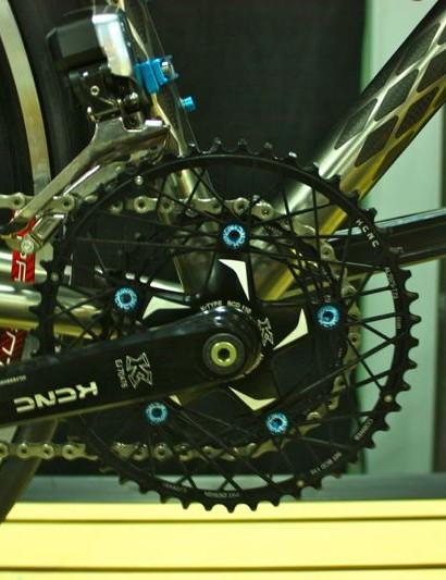 Fairwheel Bikes Interbike 2013: KCRC chainrings