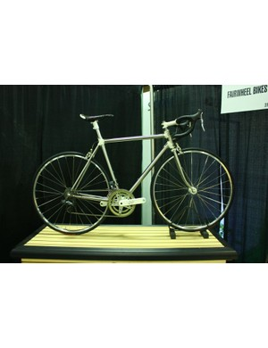 Fairwheel Bikes Interbike 2013: While the lugs are eyecatching, this bike's real magic is custom Di2 software