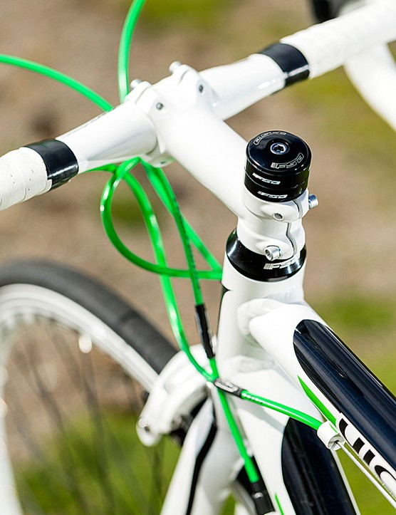 Utilitarian welding, and those cables don't match Shimano's for performance