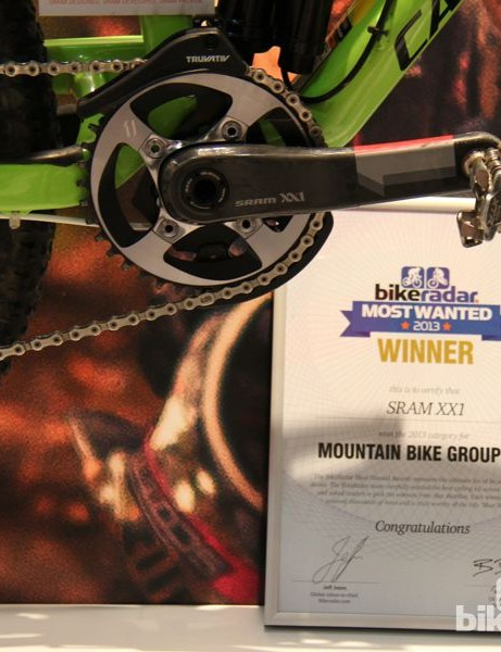 BikeRadar Most Wanted 2013: SRAM has quickly commanded a lead position with its XX1 group