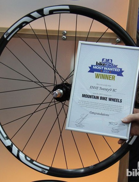 BikeRadar Most Wanted 2013: ENVE's 29 XC ranked number one on the lust list for mountain bike wheels