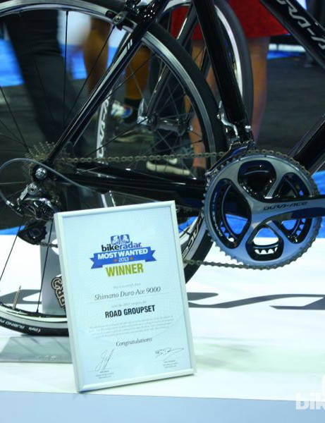 BikeRadar Most Wanted 2013: Shimano Dura-Ace 9000 was voted best road group