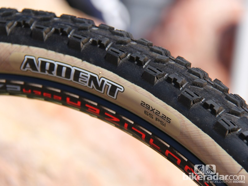 Maxxis have a new version of the popular Ardent tyre with a skinwalls. This new version will only be offered in 29x2.25in and 29x2.4in