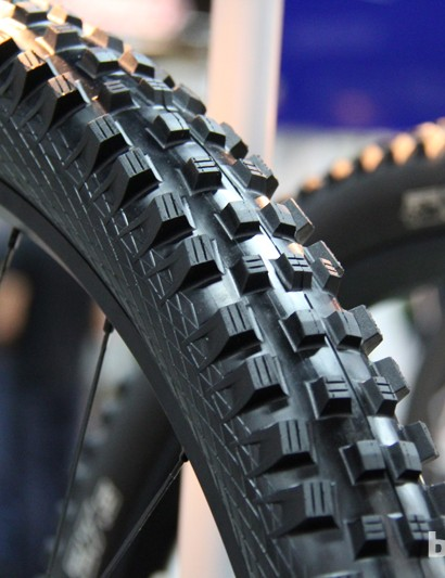 Schwalbe's new Magic Mary is an all condition tyre with a reinforced casing that makes it suitable of DH as well as rocky Enduro courses