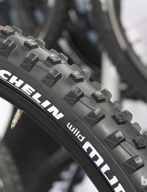 The Michelin Wild Mud will only be offered in 650b (27.5in) and 29in diameters