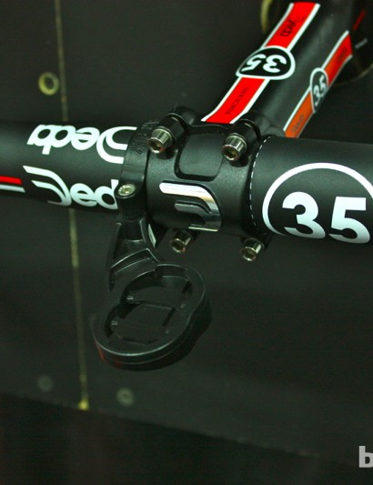 And Tate Labs also has a Garmin Bar Fly 2.0 mount for 35mm road bars