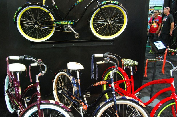 With every color under the rainbow Electra offered European style bikes that aren't limited to any color you want as long as it's black