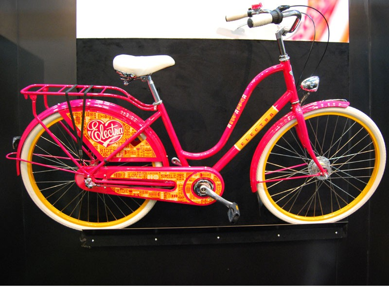 With such vivid and distinct colors it be hard to be missed on the Electra Townie commuter bikes this year