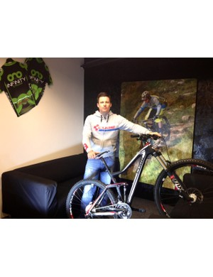 Infinity Cycles' David Robinson will open the first dedicated Cube store