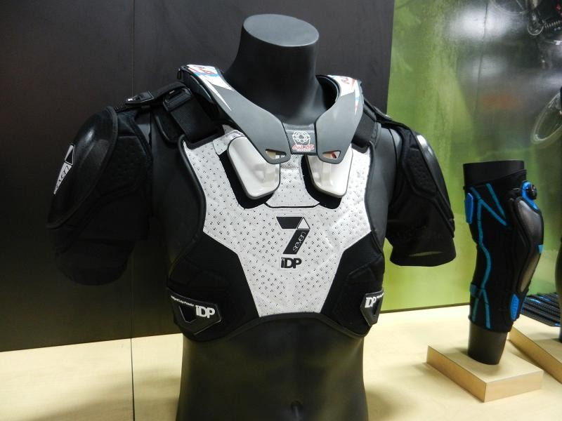 Seven iDP technical pads are developed by some of the world's fastest riders