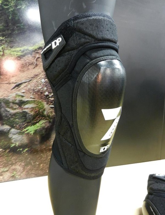 The upper part of the Control Knee actually articulates and slides over the foam above the Curv hard shell. This should make for unrestricted movement when pedalling