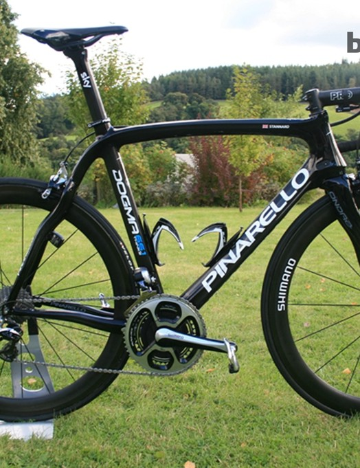 Ian Stannard's Pinarello Dogma 65.1 Think2 at the Tour of Britain